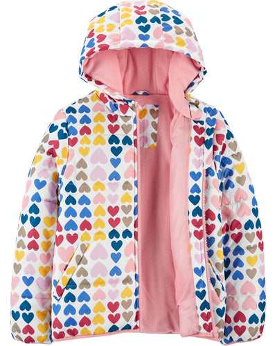 Carters Girls 4-6X Bubble Jacket