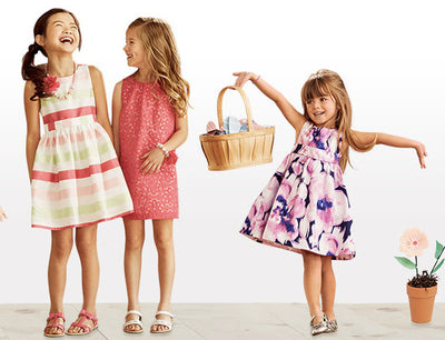 Bonnie Jean Girls 4-6X Floral Swirl Dress