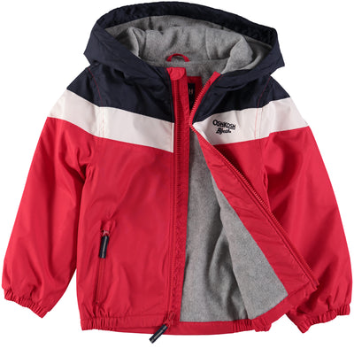 Osh Kosh Boys 4-7 Colorblock Wave Jacket