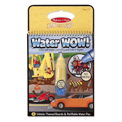 Melissa and Doug On The Go Water Wow! Vehicle Theme Board