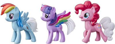 My Little Pony Rainbow Tail Surprise 3-Pack- 3-Inch Pony Figures