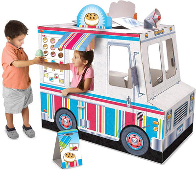 Melissa And Doug Food Truck Playhouse