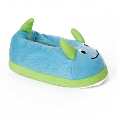 Zac & Evan Boys 5-10 Animal Plush Slipper