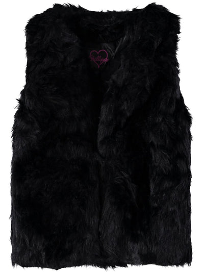 Chillipop Girls 2T-4T Faux Fur Vest