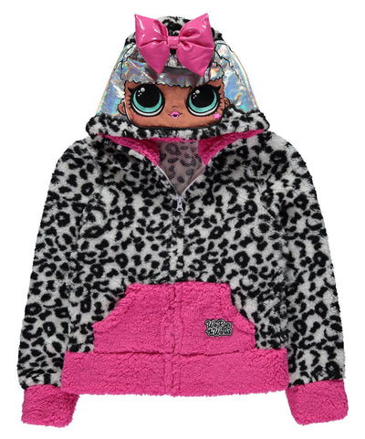 L.O.L. Surprise! Girls 6-16 Diva Fuzzy Hoodie