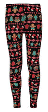 Derek Heart Girls 7-14 Ginger Bread Legging