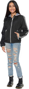 London Fog Girls 7-16 Stripe Varsity Jacket