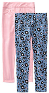 Colette Lilly Girls 4-6X Leopard 2-Pack Jegging