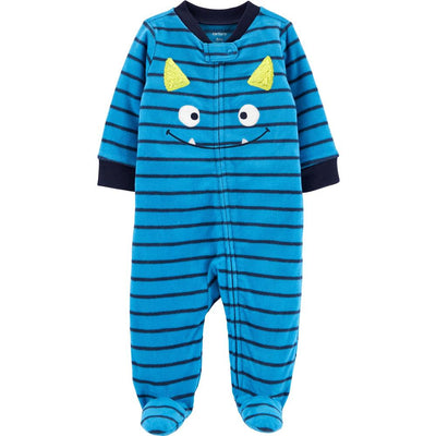 Carters Boys 0-9 Months Monster Microfleece Sleep and Play