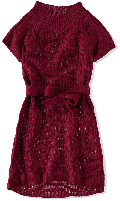Star Ride Girls 2T-4T Laced Sweater Dress