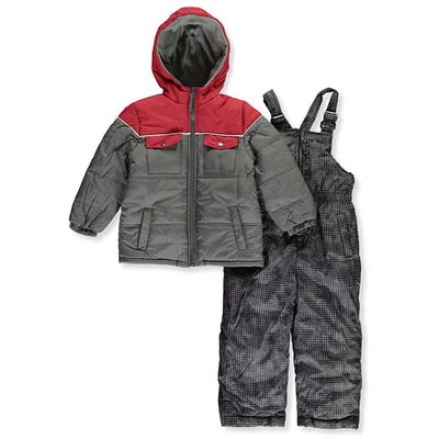 iXtreme Boys Colorblock Pocket Snowsuit