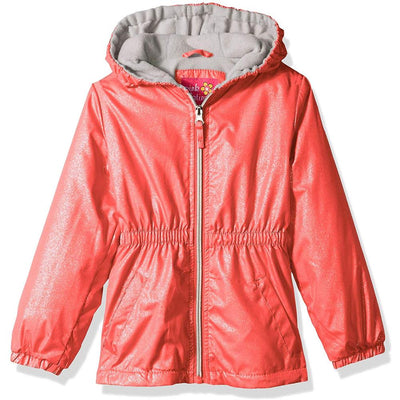 Pink Platinum Girls' 2T-4T Polar Fleece Anorak