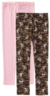 One Step Up Girls 4-6X Camo 2-Pack Legging