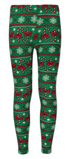Derek Heart Girls 7-14 Candy Cane Legging
