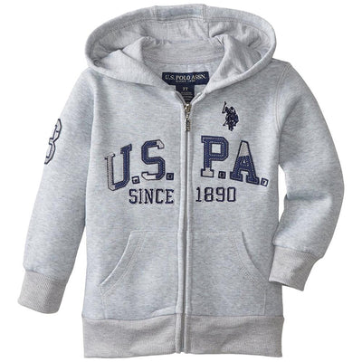 U.S. Polo Association Boys 4-7 Fleece Hoodie