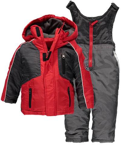 Weather Proof Baby Boys 12-24 Months Panel Snowsuit