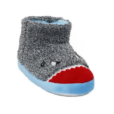 Zac & Evan Boys 2T-4T Plush Animal Slipper