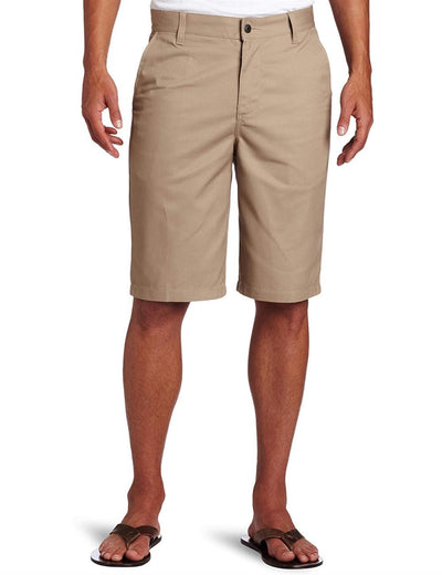 Lee Uniforms Men's Flat-Front Short
