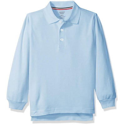 French Toast Boys 4-20 Long-Sleeve Interlock Polo
