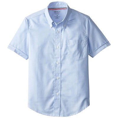 French Toast Boys 4-7 Short Sleeve Oxford Shirt