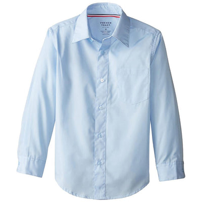 French Toast Boys 10-20 Husky Long-Sleeve Dress Shirt