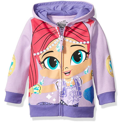 Shimmer and Shine Girls' 2T-4T Character Hoodie T-Shirt Set