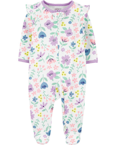 Carters Girls 0-9 Months Floral Sleep and Play