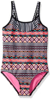 Limited Too Girls 7-16 Aztec Stripe Swimsuit