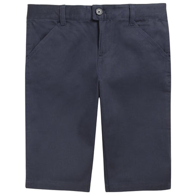 French Toast Girls 7-14 Twill Bermuda Shorts