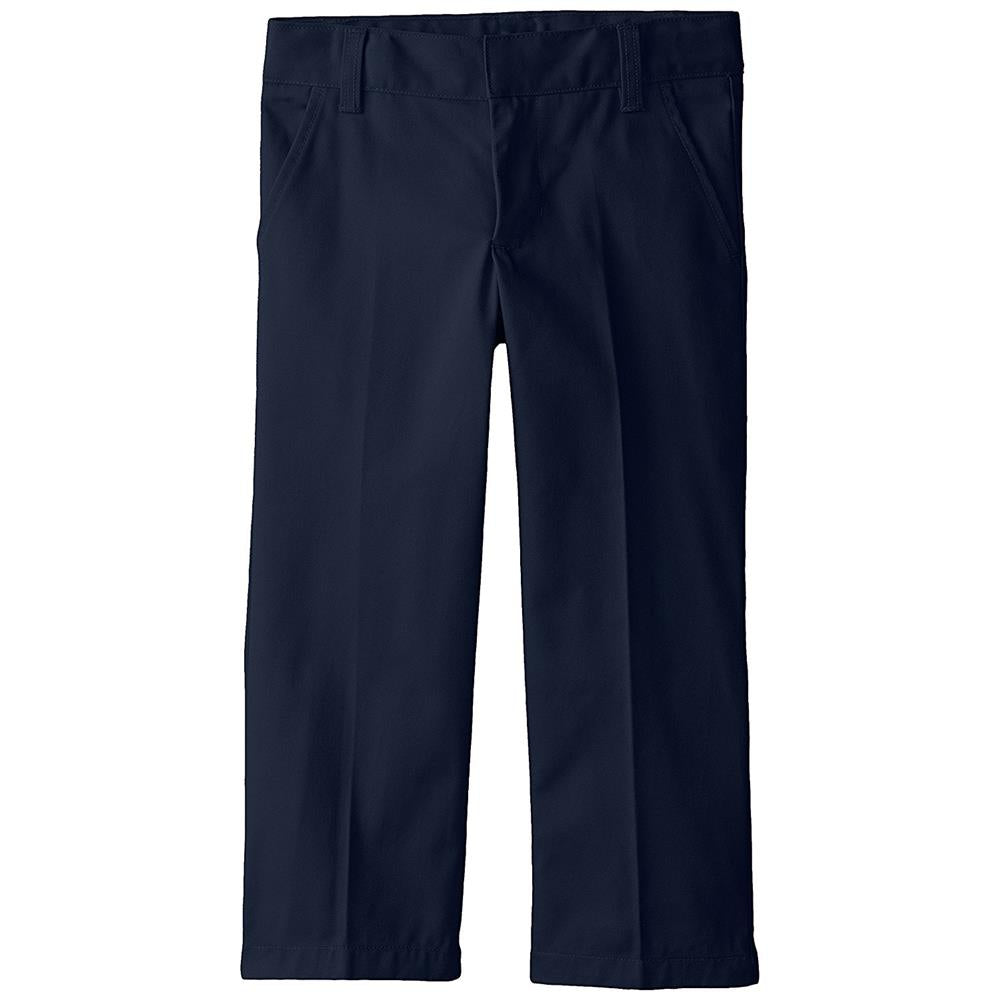 French Toast School Uniform Boys Adjustable Waist Flat Front Double Knee Pants