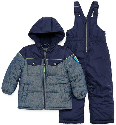 iXtreme Boys 2T-4T Piping 2-Piece Snowsuit