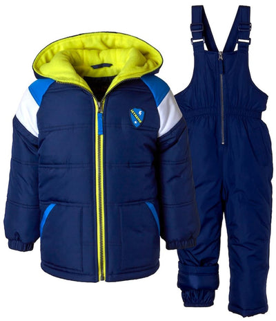 iXtreme Boys 12-24 Months Color-block Raglan 2-Piece Snowsuit
