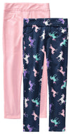 Colette Lilly Girls 4-6X Unicorn 2-Pack Jegging