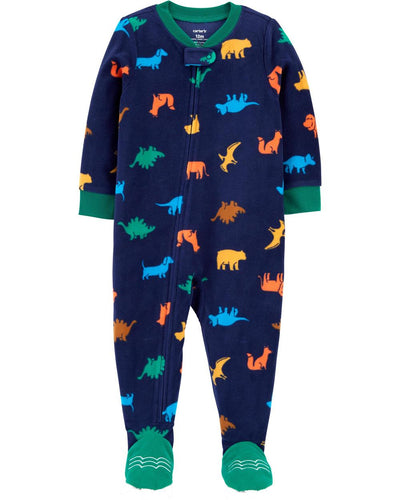 Carters Boys 12-24 Months Dino Microfleece Blanket Sleeper