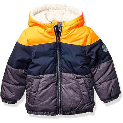 Osh Kosh Boys Colorblock Puffer Jacket