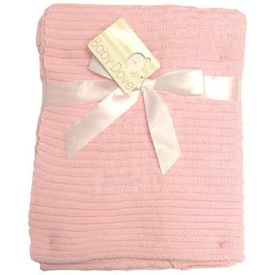 Baby Dove Brick Knit Blanket