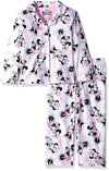 Disney Girls 4-10 Minnie Mouse Coat Pajama Set