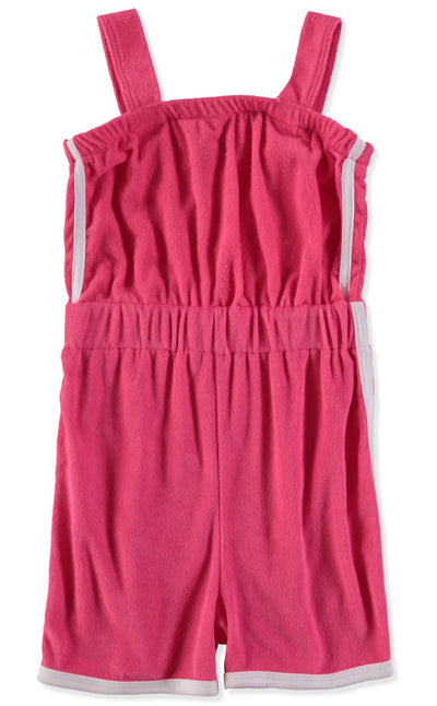 Full Circle Trends Girls 7-16 Terry Tube Romper Swimsuit Cover Up