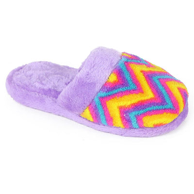 Chatties Girls 11-5 Printed Plush Slipper