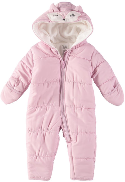 Carters Girls 0-9 Months Fox Pram Suit