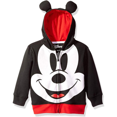 Disney Boys' 2T-4T Mickey Mouse Costume Hoodie T-Shirt Set