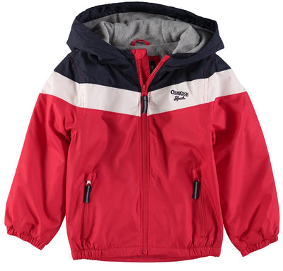 Osh Kosh Boys 2T-4T Colorblock Wave Jacket