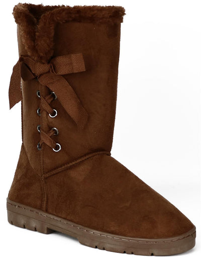 Chatz Womens 5-11 Laced Microsuede Boot