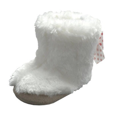 Stepping Stones Baby Girls 3-12 Months Faux Fur Booties