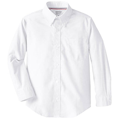 French Toast Boys 4-7 Long Sleeve Oxford Shirt