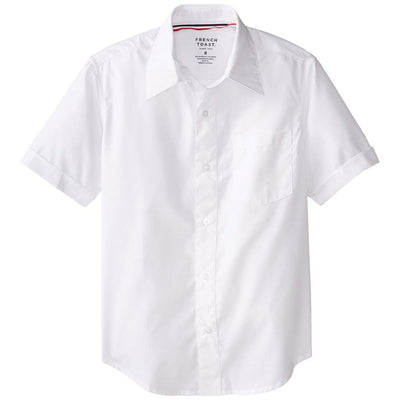French Toast Boys 2T-4T Short-Sleeve Dress Shirt