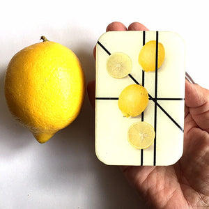 Lemon notions tin