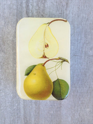 Botanical Pear tin