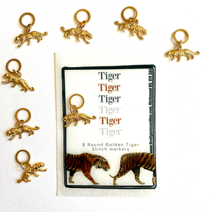 Tiger stitch marker packs