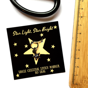 Star stitch marker- single